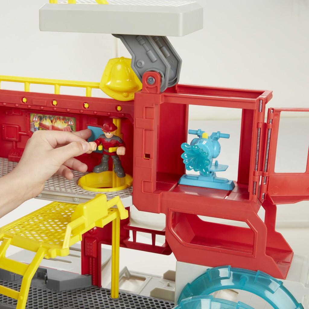 Transformers Rescue Bots Quartel dos Bots B5210 - Hasbro