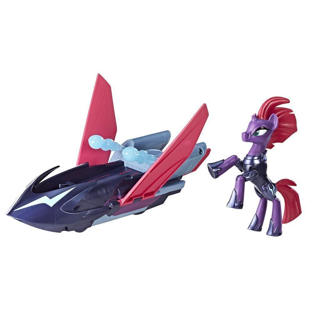 Veículo e Figura - My Little Pony - Guardians Of Harmony - Barco Voador - Tempest Shadow - Hasbro