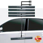 Kit Protetor de Porta - Chevrolet - 4 Peças