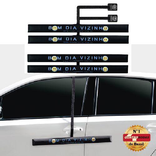 Kit Protetor de Porta de Carro - Bom Dia Vizinho - 4 peças