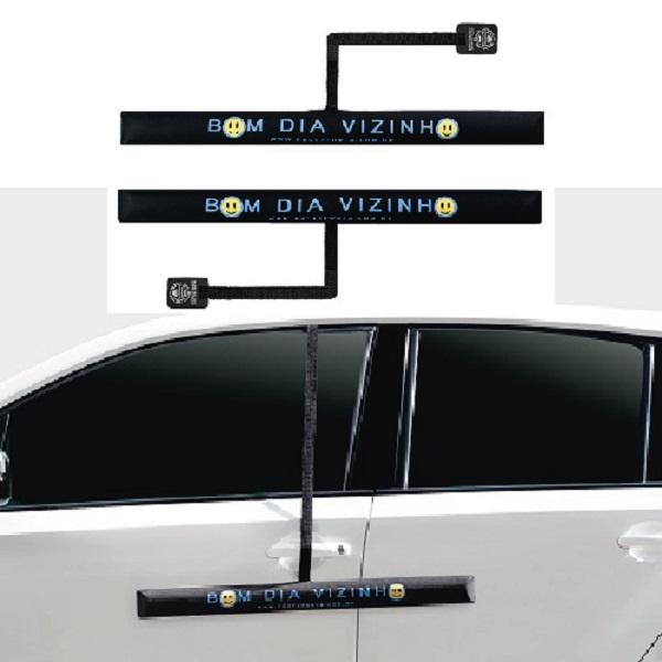 Protetor de Porta de Carro - Bom dia Vizinho - 2 peças