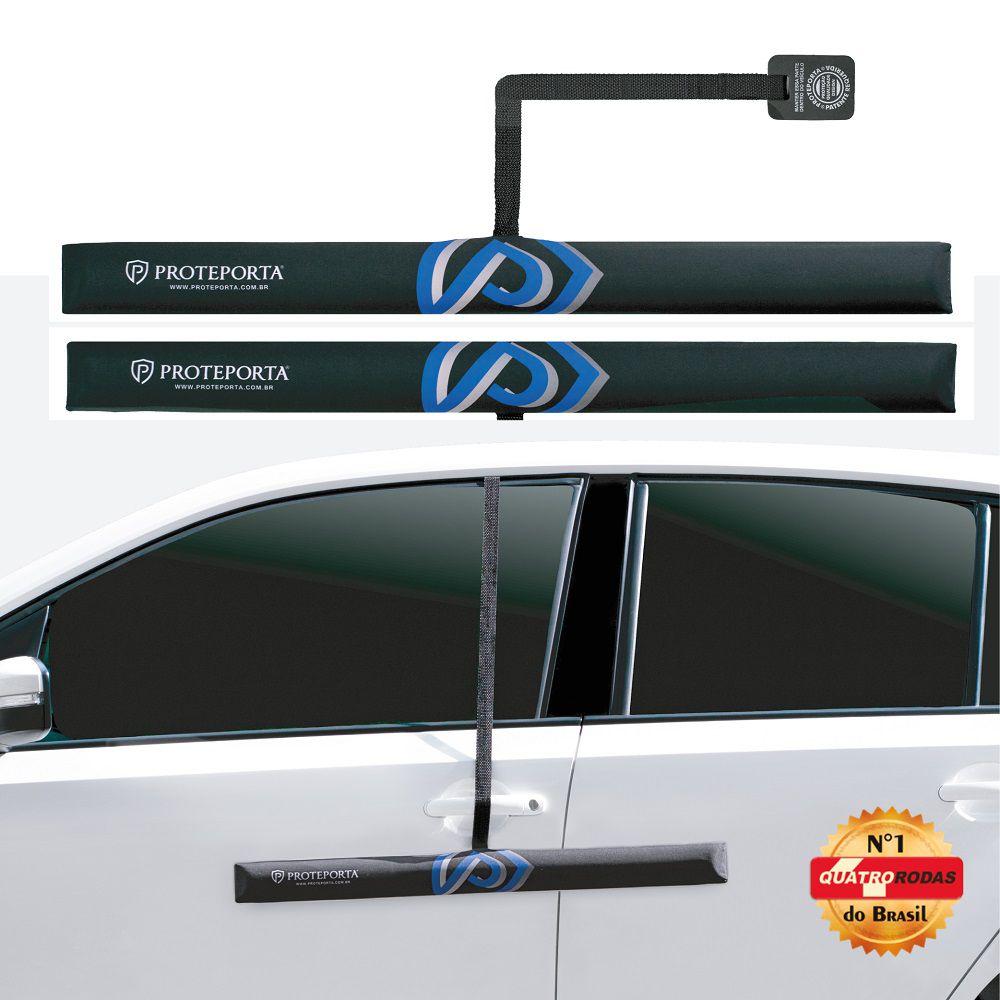 Protetor de Porta - Preto - 2 peças