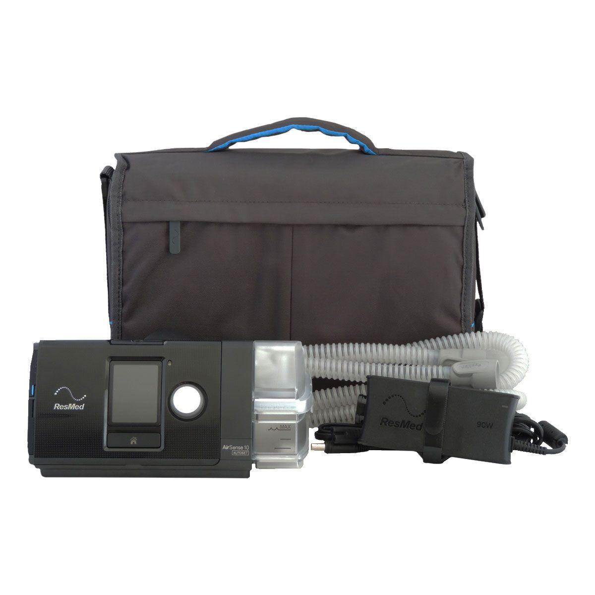CPAP AIRSENSE 10 COM UMIDIFICADOR – RESMED  É NA RESPIRECARE