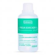 Agua Boricada Farmax 100 ML