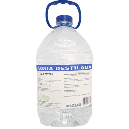 Agua Destilada Cristal 5 Litros
