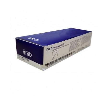 Agulha Hipodermica BD 25X8MM Caixa C/100 UNID