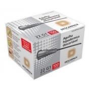 Agulha Hipodermica Descarpack 25X0,7MM Caixa C/100 UNID