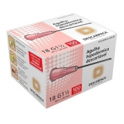 Agulha Hipodermica Descarpack 40X1,20 Caixa C/100 UNID