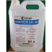 Alcool GEL Asseptcin 5 LT
