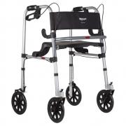Andador Mercur com 4 Rodas e Assento Aluminio