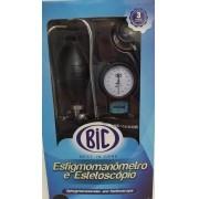 Aparelho de Pressao BIC ADULT NYLON Velcro com Esteto Duplo