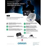 Aparelho de Pressao OMRON Digital de Braco Elite HEM-7130