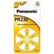 Bateria de ZINC Aparelho Auditivo Panasonic PR230