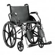 Cadeira de Rodas Jaguaribe 1016 Preta Courvin (45)