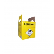Coletor Perfurocortante Descarpack 3 L