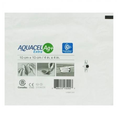Curativo Aquacel EXTRA AG+ 10CMX10CM Convatec