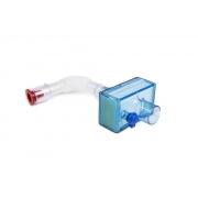 Filtro Trocador de Calor Hepa UNDIS C/ Espaco Morto para Ventilacao Mecanica