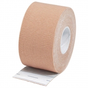 Fita  Adesiva Elastica para Kinesio Tape K Bege 5CMX5M Macrolife