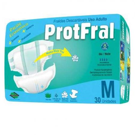 Fralda Protfral Pacote Economico M C/ 30 UND
