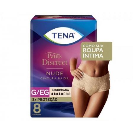 Fralda Tena PANTS Discreet Nude G/EG 8 UNID