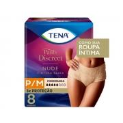 Fralda Tena PANTS Discreet Nude P/M 8 UNID