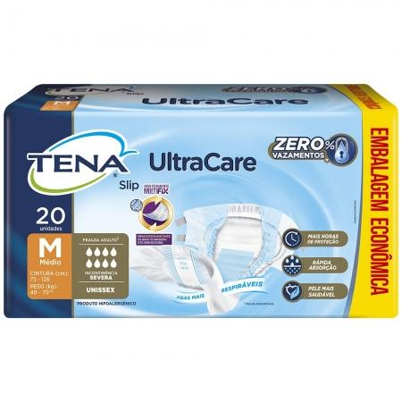 Fralda Tena SLIP M ULTRA Care Leve 20 Pague 17