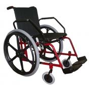 Locação Cadeira de Rodas Free Vermelha