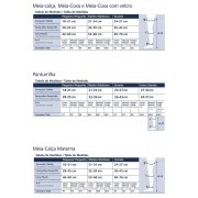 Meia Coxa Sigvaris Select Comfort 862 20-30 S/ Ponteira