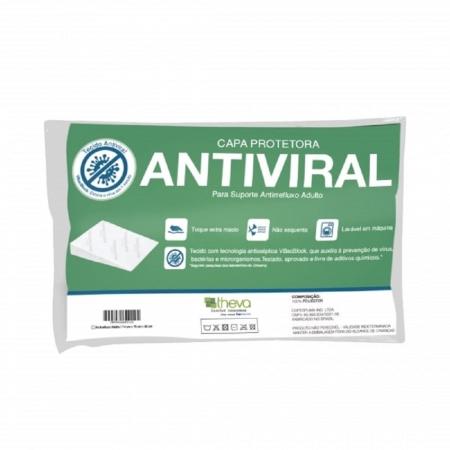Protetor de Travesseiro Antirrefluxo Adulto Antiviral Theva