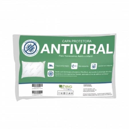 Protetor de Travesseiro Antiviral Theva