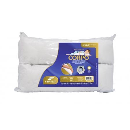 Travesseiro de Corpo Anatomico 40X130 Fibrasca