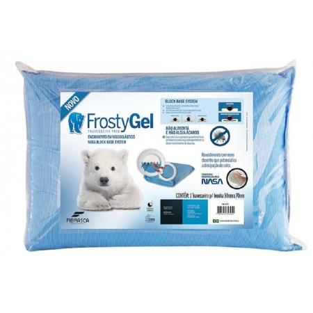 Travesseiro Extranasa Frostygel Fibrasca