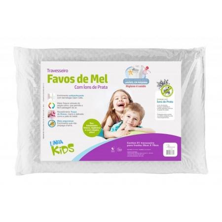 Travesseiro Favos de MEL KIDS Fibrasca