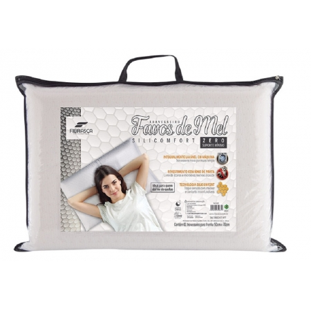 Travesseiro Favos de MEL Silicomfort Zero Fibrasca