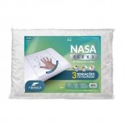 Travesseiro Nasa FLEX 3 Suporte BAIXO/MEDIO Fibrasca