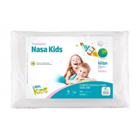Travesseiro Nasa KIDS Fibrasca