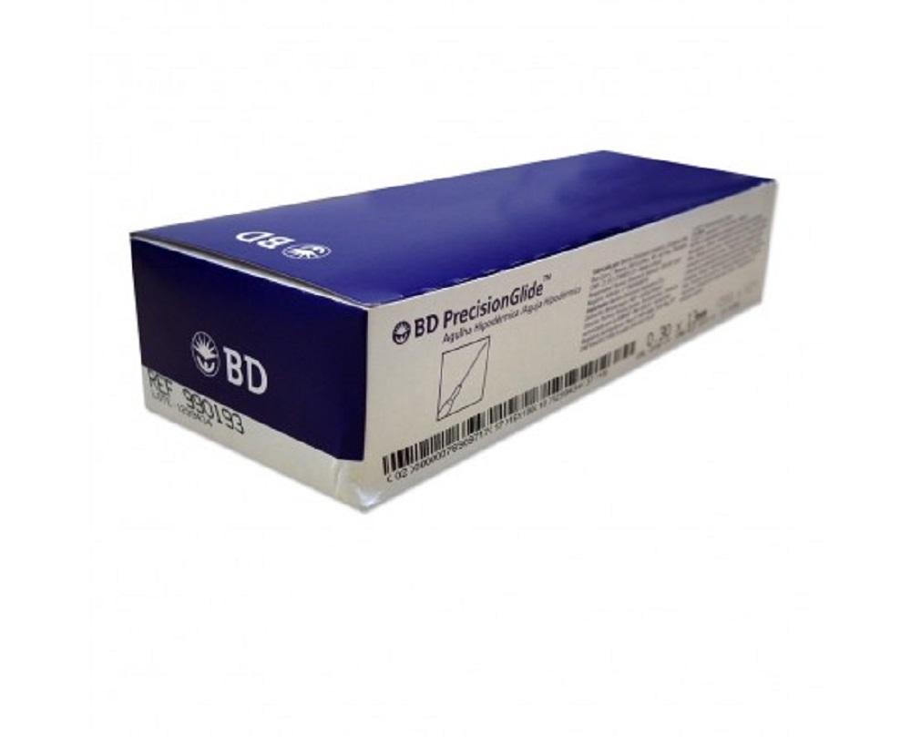 Agulha Hipodermica BD 40X12MM Caixa C/100 UNID