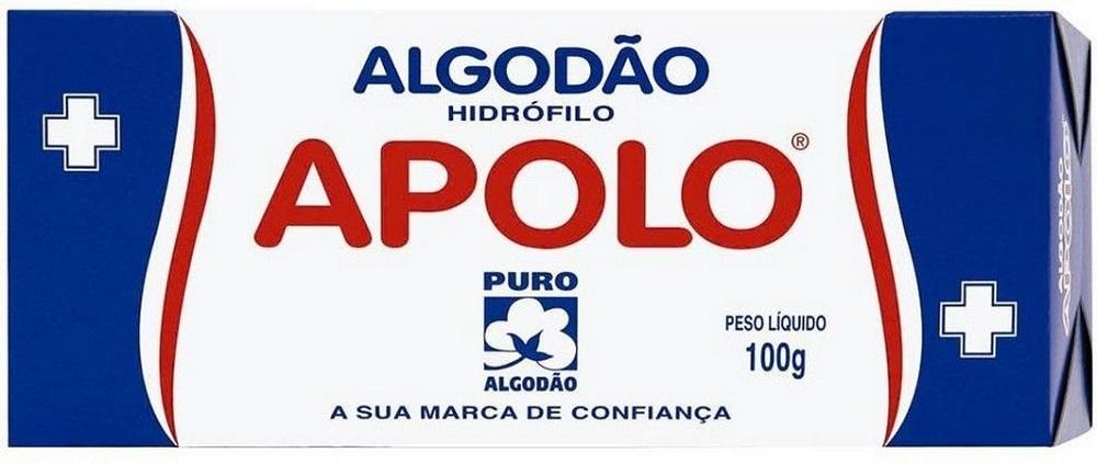 Algodao Apolo 100G Caixinha