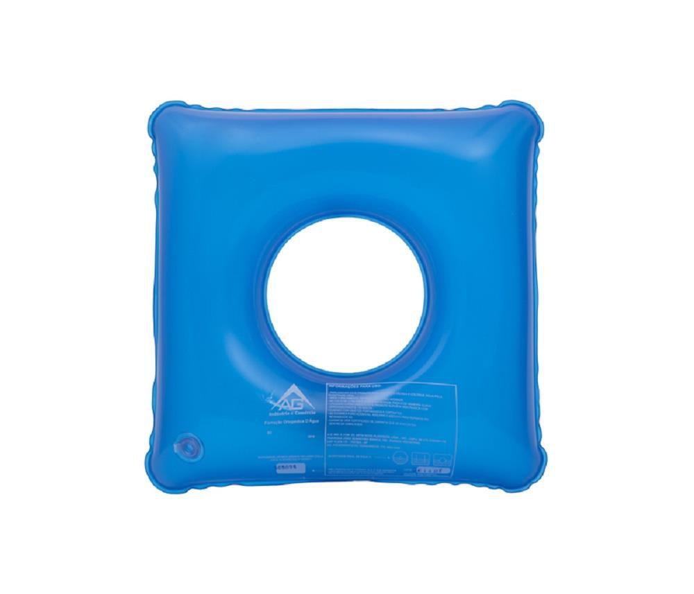 Almofada Antiescaras Agua Quadrada C/ Orificio AG 1001