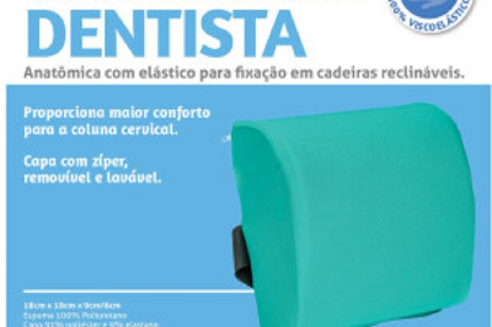 Almofada para Cadeira de Dentista Branca Perfetto