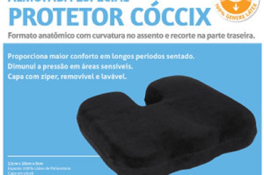 Almofada Protetor de Coccix Preta Perfetto