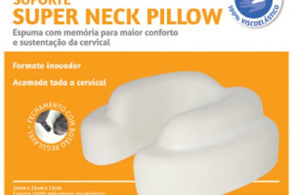 Almofada Super NECK Pillow COR Grafite Perfetto