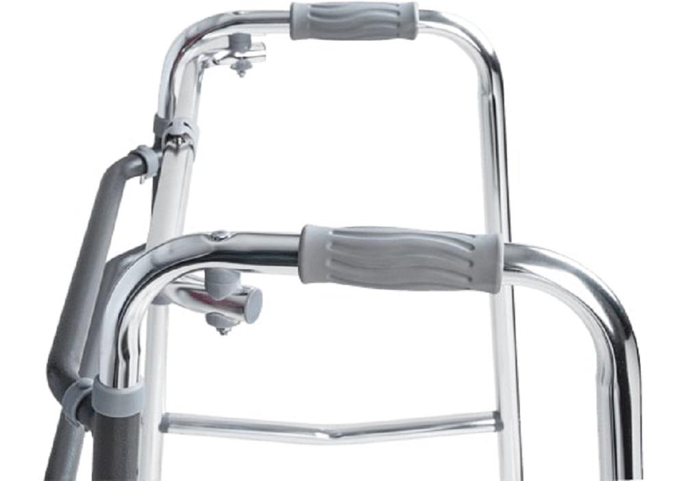 Andador Articulado e Fixo D10 Aluminio Dellamed