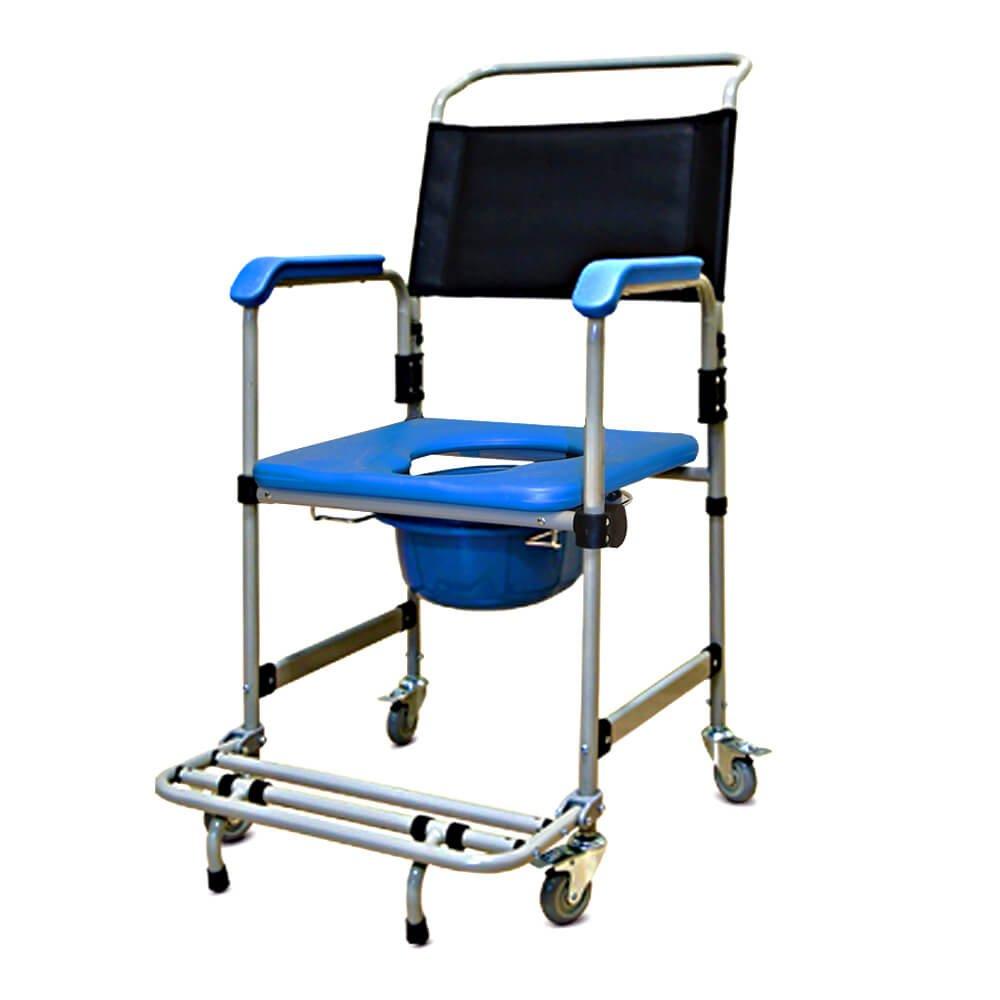 Cadeira de Rodas Banho ACO D50 Dellamed