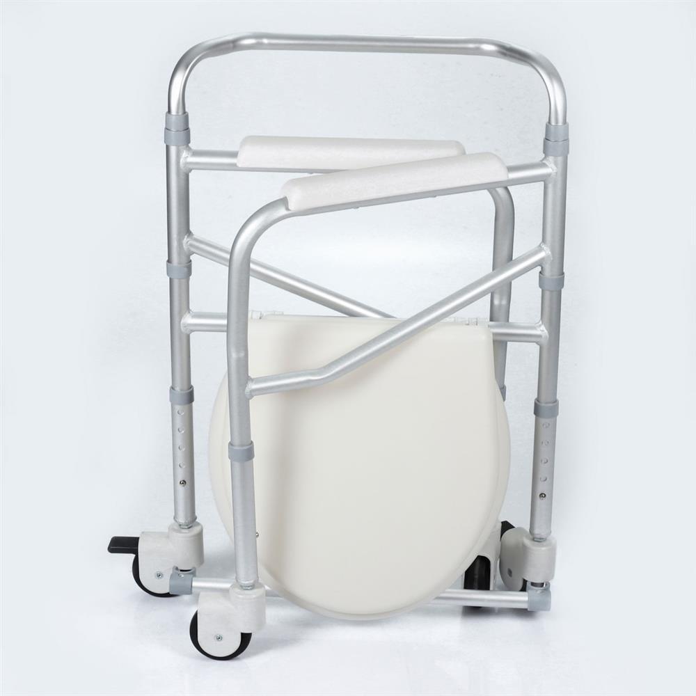 Cadeira de Rodas Banho Aluminio JL696L Montserrat