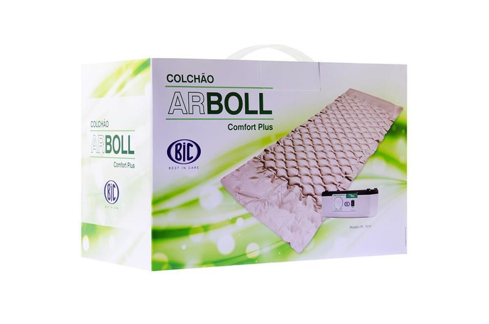 Colchao ANTI Escaras ARBOLL Comfort PLUS BIC C/ Bomba