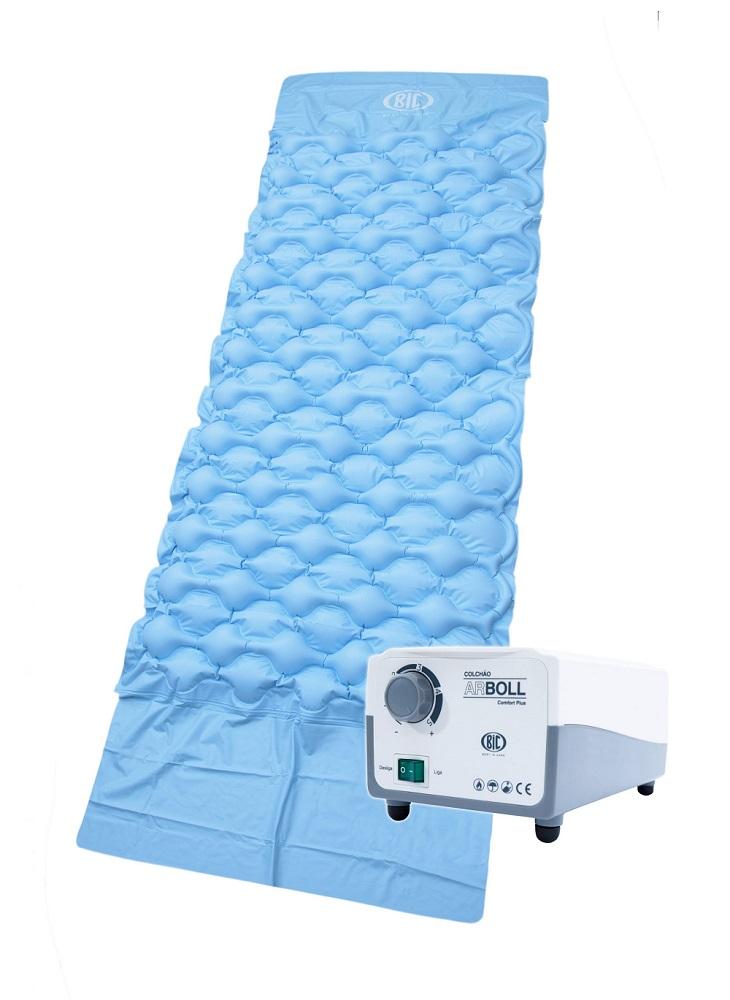 Colchao ANTI Escaras ARBOLL Comfort PLUS BIC C/ Bomba HF6001