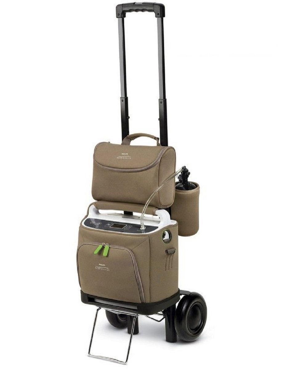 Concentrador Portatil Simplygo + Carrinho de Transporte Philips