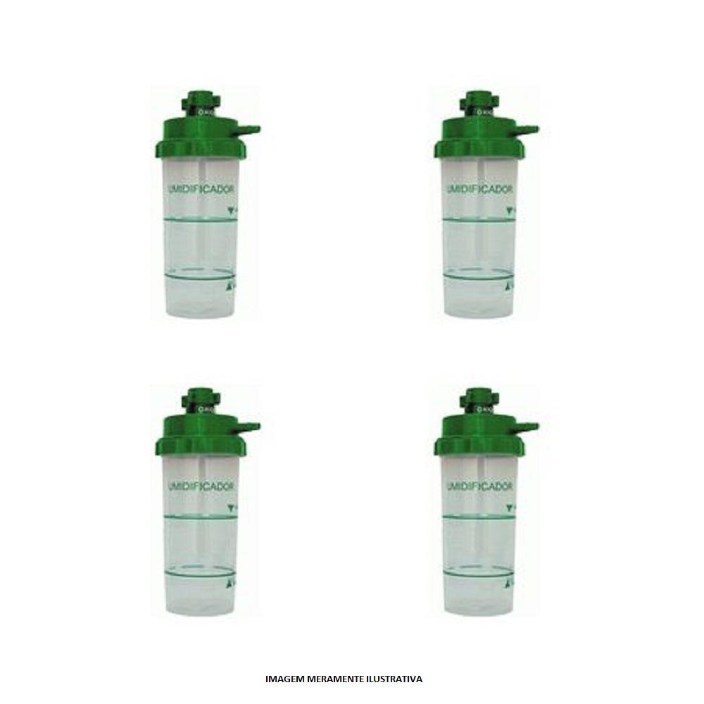 Copo Umidificador para Oxigenioterapia Bubble 400ML Moriya HB2401