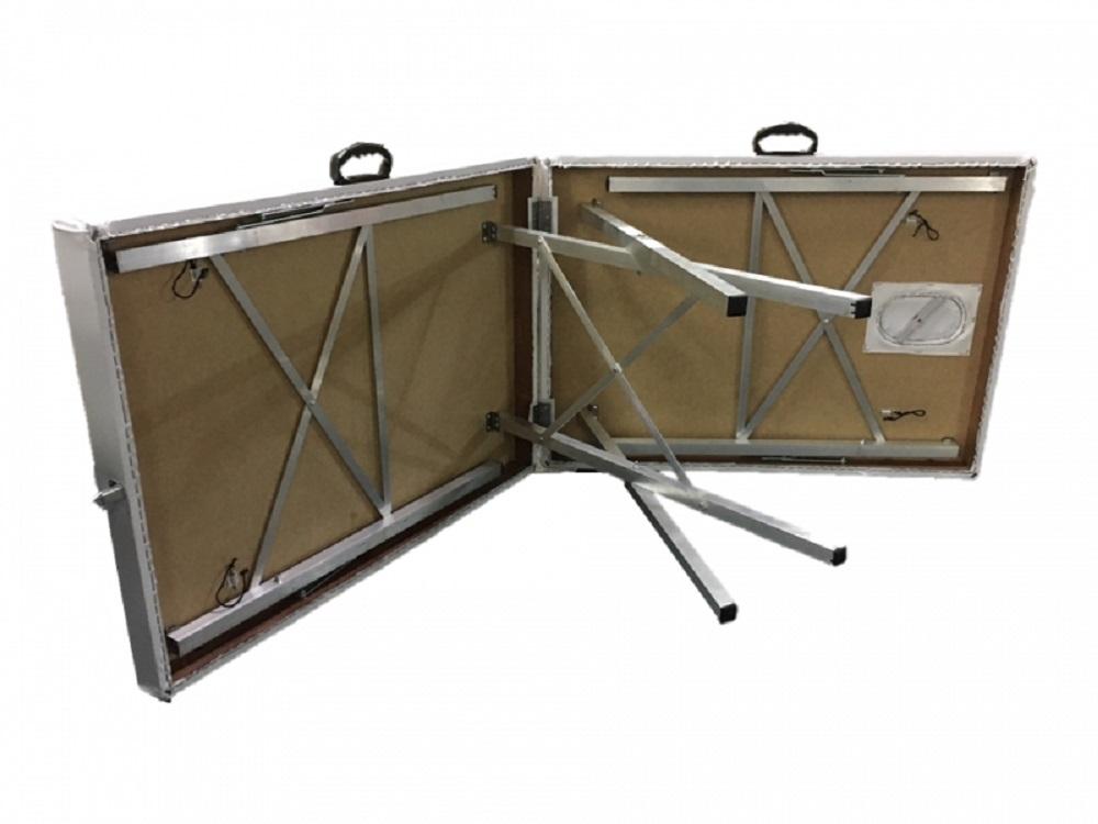 Maca Dobrável Portatil Aluminio BEST PRO com Orifício Interno DM-02 Preto